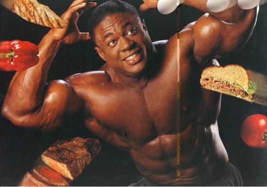 большие мышцы и правила питания