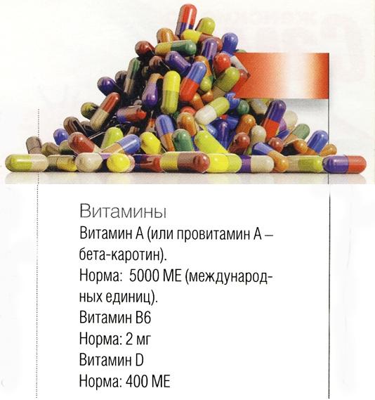 нормы для таблеток красоты
