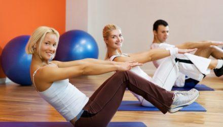 Фитнес и занятия фитнесом