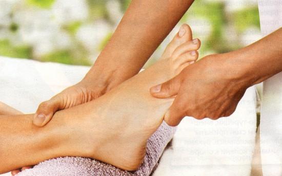 уход за ногами массаж