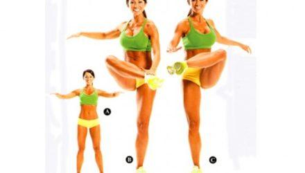 Упражнения динамической растяжки Цыганочка