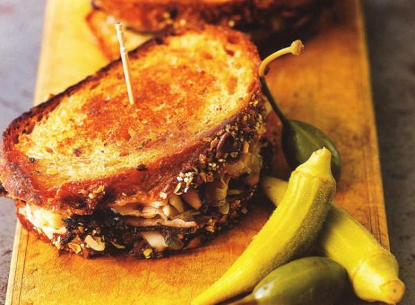 рецепты бутербродов бутерброд по-деревенски