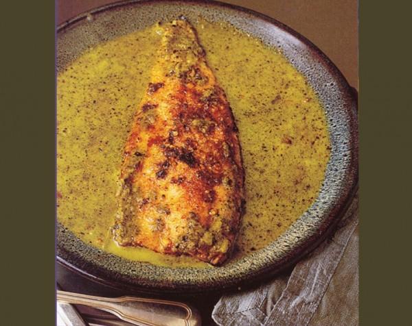 Фитнес-диета Рыба с грецкими орехами