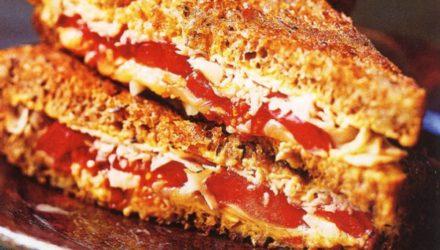 Фитнес-диета Горячий сэндвич с индейкой