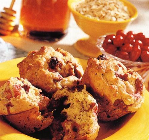 рецепты десертов мафины с клюквой