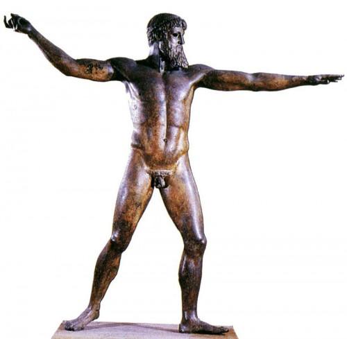 зевс красивая мужская фигура