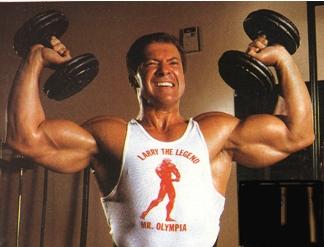 жим для дельтовидных мышц Ларри Скотта