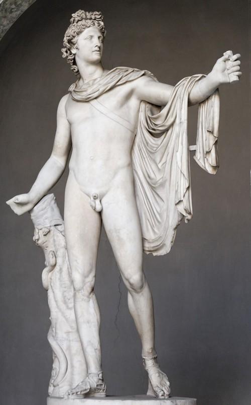 Аполлон красивая фигура