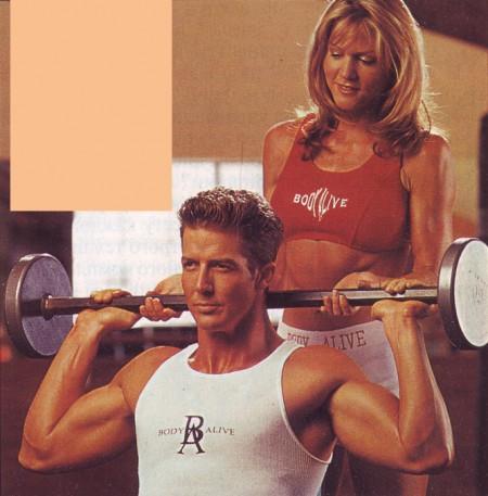 упражнения для дельт жим из-за головы