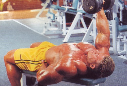 жим одной рукой лежа упражнения для груди
