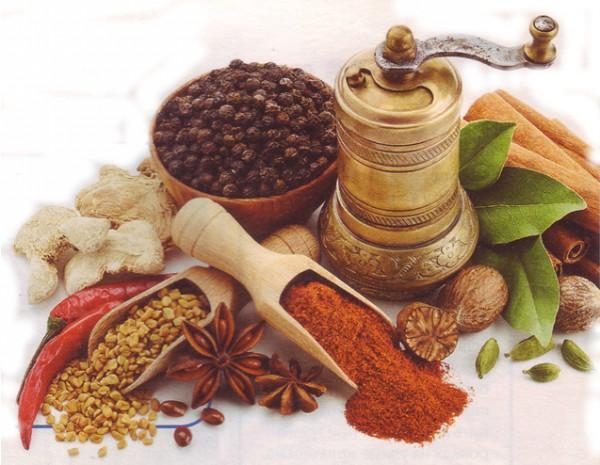 правильное питание зимой и специи