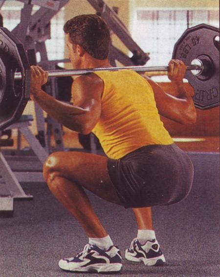 упражнения для ног приседания