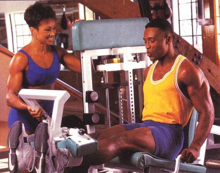 упражнения для ног разгибания ног