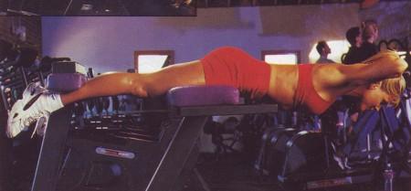 упражнение для спины разгибания спины