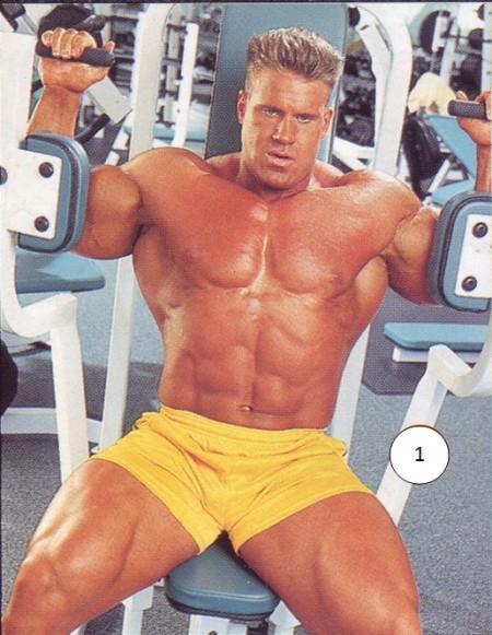 упражнение для мышц груди сведения в тренажере