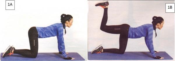 упражнения для ягодиц махи