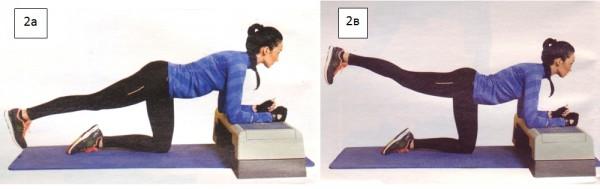 махи пямой ногой упражнения для ягодиц