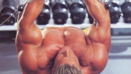 Упражнения для груди Разведения на блоках