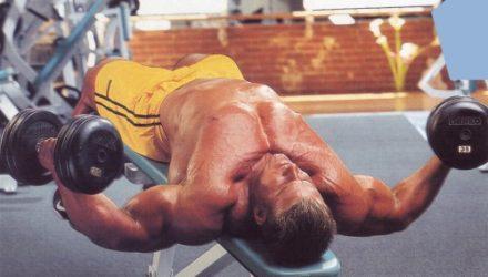 Упражнения для груди Разведения на скамье с обратным наклоном