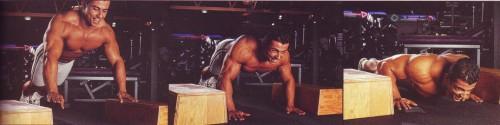 отжимания на опорах упражнения для груди