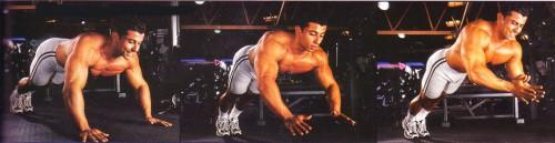 упражнения для груди плиометрические отжимания