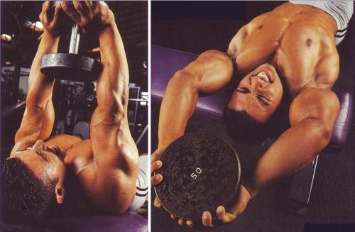 упражнения для груди пулловеры