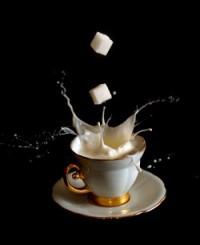 молоко и сахар питание для мышц