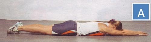 упражнения для спины обратные подъемы корпуса и ног-01