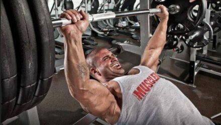 С каким весом нужно тренироваться, чтобы нарастить мышцы?